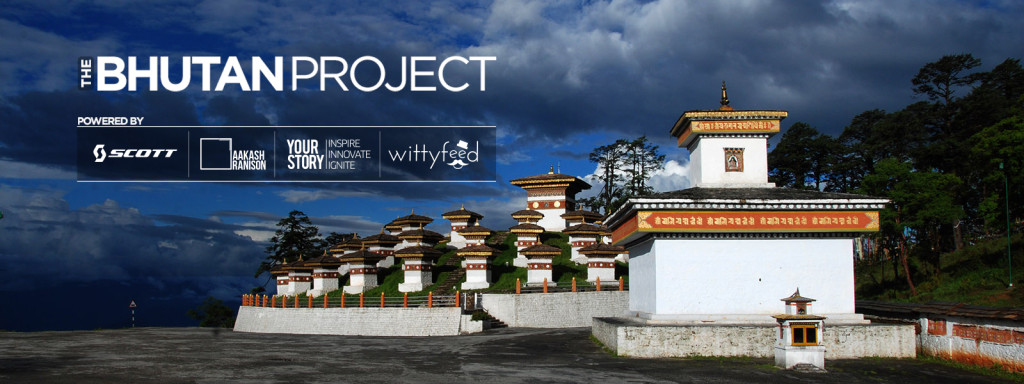 The Bhutan Project - Scott Ride by Aakash Ranison, YourStory and WittyFeed