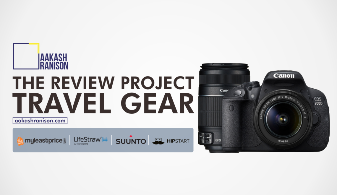 Travel Gear Review : Canon 700D