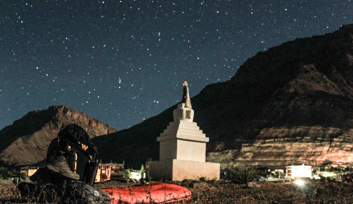 Spiti Valley Project : How I became a homeless wanderer in Kaza